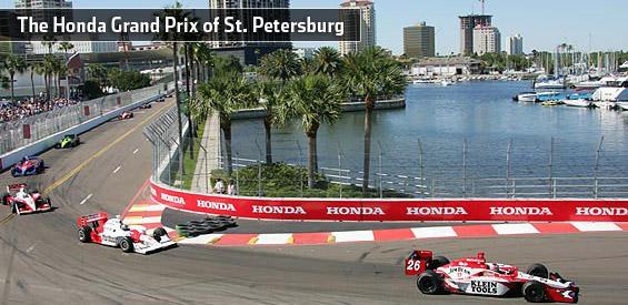 This weekend in downtown st petersburg honda grand prix for Honda st petersburg